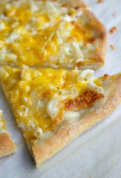 Mac and Cheese Pizza  www.bakingisascience.com
