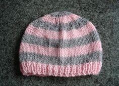marianna's lazy daisy days: Knitted Baby Girl Hats