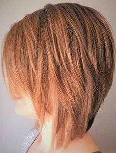 Best Short Choppy Hair for Ladies. Short choppy hair adds amazing texture that will take your look into an indent. Regardless of whether you have a bob Wedge Bob Haircuts, Short Choppy Haircuts, Thin Hair Haircuts, Bob Hairstyles For Fine Hair, Medium Choppy Haircuts, Short Shaggy Bob, Short Choppy Bobs, Choppy Pixie Cut, Modern Bob Hairstyles