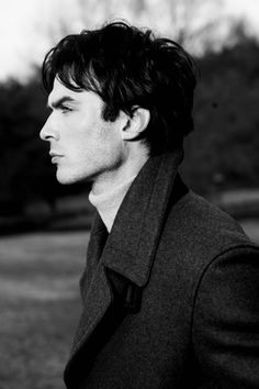 Ian Somerhalder but with that coat on he could be Sherlock. OMG! Is there a fandom between Sherlock and TVD??