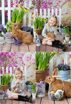 Easter Photoshoot - Trend Topic For You 2020 Baby Photography Poses, Photography Mini Sessions, Holiday Photography, Spring Pictures, Easter Pictures, Birthday Pictures, Rabbit Photos, Baby Sewing Projects, Easter Bunny Decorations