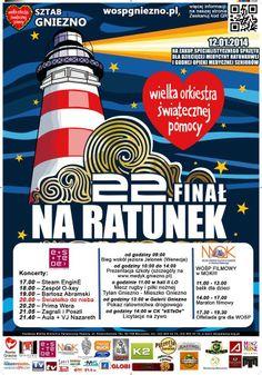 WOŚP 2014 również w Gnieźnie! / The biggest charity event in Poland also in Gniezno!