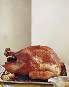 How to Brine a Turkey: Soaking a turkey overnight in a solution of salt and water ensures moist results. When you add aromatics to the brine, the resulting roast is also infused with a subtle character all its own. Follow our instructions to prepare a perfect brined turkey for your next feast.