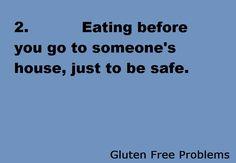 Gluten Free Problems