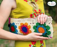 Hand knitted bags patterns