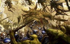 News: Interview Transcript from Age of Sigmar GW Rep Warhammer 40k Art, Warhammer Fantasy, Fantasy Rpg, Fantasy Artwork, Fantasy World, Chaos Daemons, Chaos 40k, Stormcast Eternals, Age Of Sigmar