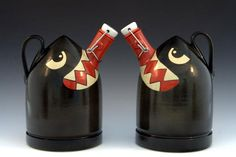 Still more Beer Growlers from Carlburg Pottery