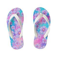 Kids Flip Flops Kids Flip Flops, Christmas Gifts For Kids, Artwork Design, Custom Shoes, Slip On, Sandals, Pattern, Things To Sell, Model