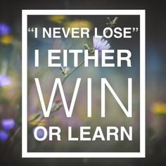 I never lose. I either win or learn! #madewithstudio