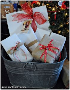 Wrapping Up Christmas - Town & Country Living