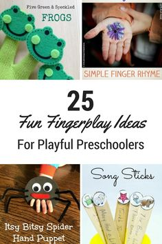 25 Fun Fingerplay Ideas for Playful Preschoolers - Mom Loves Best