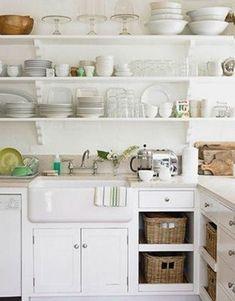 19 Super Stylish Shelf Display Inspirations | Open shelving ...