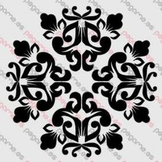Pegame.es Online Decals Shop  #decoration #ornamental #motif #concentric #vinyl #sticker #pegatina #vinilo #stencil #decal