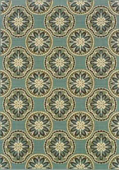 "Granville Rugs Monterey Indoor/Outdoor Area Rug, Blue/Cream/Brown, 6' 7"" x 9' 6"" Oriental Weavers,http://www.amazon.com/dp/B004W55ZCW/ref=cm_sw_r_pi_dp_3Mgttb1RZDNC9ZJ4"