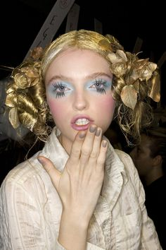 Vlada Roslyakova at John Galliano Spring 2008