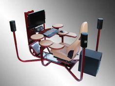 Unique Furniture Ideas For Ergonomic Workstation Gaming Desk ...