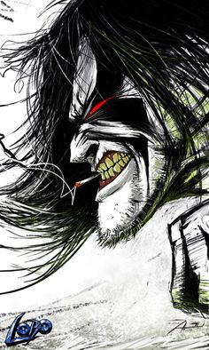 LOBO :: Comic Fan Art by Adnan Ali