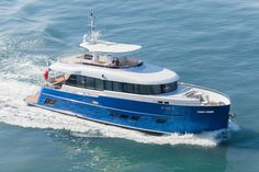 Gamma Yachts delivered the third unit of Gamma 20 to opera singer Andrea Bocelli. The yacht was designed by Vripack Read More: http://www.yachtemoceans.com/gamma-20