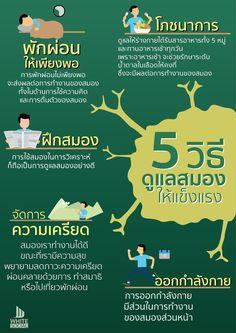 🖐️ 5 วิธีดูแลสมองให้แข็งแรง 🏋️ . สมองก็เหมือนกับร่างกายส่วนอื่นๆ 🤹 ที่จำเป็นต้องดูแลและบริหารสมองอยู่เสมอ . นอกจากร่างกายส่วนอื่นๆ แล้ว 🏌️ สมองก็เป็นอีกหนึ่งอวัยวะที่สำคัญมาก . และจำเป็นต้องได้รับการดูแลอย่างดี รวมไปถึงหมั่นบริหารสมองอยู่เสมอ 📚 . เพื่อให้สมองแข็งแรงนั้นทำงานอย่างมีประสิทธิภาพ และอยู่คู่กับเราไปนานๆ 💪😊 #WhiteSocial #อิสลามเรื่องง่ายๆ Healthy Beauty, Healthy Tips, Work Life Balance Tips, Healthy Exercise, Self Motivation, Health Eating, Good Habits, Health Education, Workout Challenge