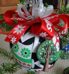 Christmas Owls Quilted Christmas Ornament by ncgalcreations, $15.00