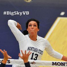 Oct. 14 - MSU's Natalee Godfrey Named Big Sky Conference Volleyball Player of the Week #BigSkyVB #GoCatsGo