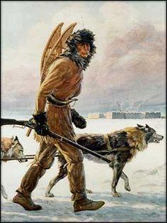Exploration, the Fur Trade and Hudson's Bay Company - History Mountain Man, Canadian History, American History, Canadian Art, Bushcraft, Quebec, Fur Trade, Hudson Bay, Thinking Day