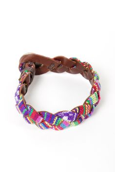 Braided Weave Bracelet  i love simple jewelry like this!
