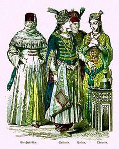 Plate #67a - Seventeenth and Early Eighteenth Centuries - Turks