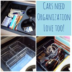 20 Super Cool Car Organization Hacks Making Your Road Trips Convenient and Mess-Free – Cute DIY Projects Organisation Hacks, Organizing Hacks, Organising, Car Organization Kids, Car Console, Car Essentials, Car Storage, Book Storage, Car Hacks