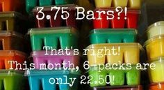 Yep!!! That's right, Scentsy Bars as low as $3.75 each through August 31!! Contact me today to get your order placed!! #scentsy  www.gonewickless.net