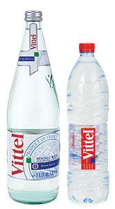 Vittel Water.  Pat worked at this factory in France.