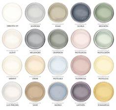 Byggfabriken lanserar egen färgskala för giftfri inomhusväggfärg.