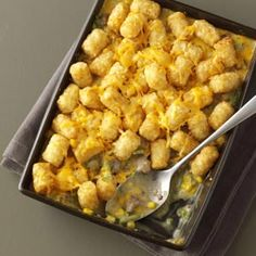 Tater Tot Casseroles Recipe from Taste of Home