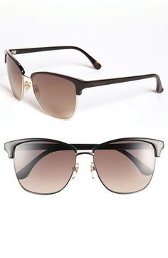 'Ruth' 57mm Retro Sunglasses