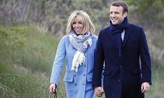 Emmanuel makron koos oma naise Brigitte Trogneux, kellega ta kohtus, kui ta oli tema õpetaja.