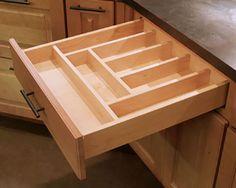 Diy Custom Wooden Drawer Organizers Kitchen Diy