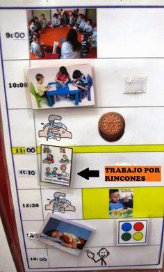 Pecs Schedule, Preschool Spanish, Deaf Children, Special Needs, Ideas Para, Homeschool, Classroom, Teaching, Baseball Cards
