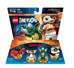 Amazon.com: Gremlins Team Pack - LEGO Dimensions: Lego Dimensions: Gremlins Team Pack: Video Games
