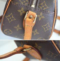 8fbf2d278db repaired torn ripped handbag bag purse shoulder strap Hobo Handbags