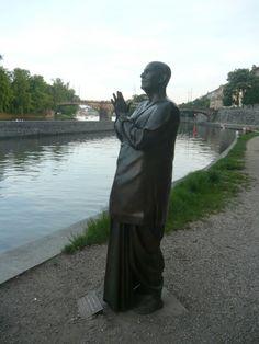 The Statue of Harmony Kampa Island Prague
