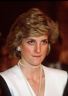 Princess Diana - are those tears in her eyes?