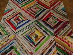 Selvage quilt - I'm busy collecting selvage strips to make a future quilt - I've made several gifties so far.