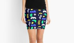 """Night in the desert"" Pencil Skirts by ssananikone 