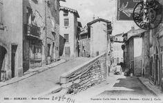 La rue de Clérieux en 1911.