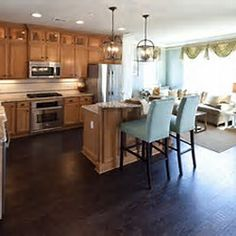 Kitchen Ideas With Dark Hardwood Floors i want dark hardwood floors but have light cabinets. it actually
