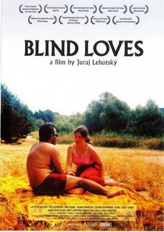 BLIND LOVES - 2008 - ORIG. FILMPOSTER A4 - Juraj Lehotsky PETER KOLESAR