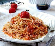 Marinara Soslu Spagetti – Mutfak Sırları – Pratik Yemek Tarifleri