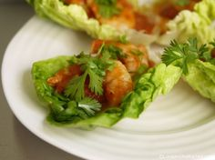 5:2 diet Spicy Prawn Wraps