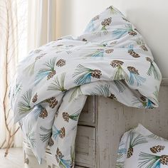 Pinecone Flannel Sheets&Bedding Set | The Company Store