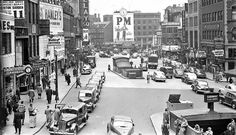 An Old Scollay Square Street Scene in Boston, Massachusetts at: http://theoldmotor.com/?p=158182